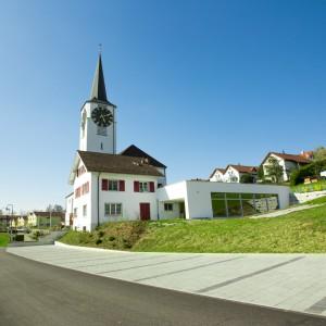 Rückseite Kirche St. Niklaus
