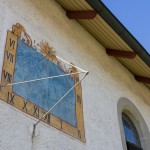 Kapelle St. Nikolaus Sonnenuhr